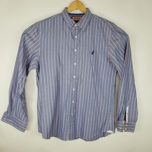 Pink by Thomas Pink Casual Mens Size Medium Blue